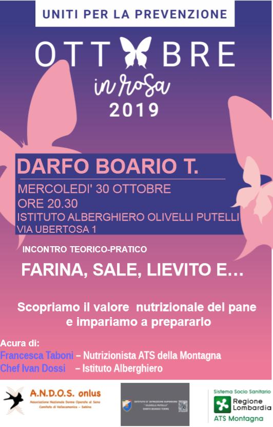 Ottobre in rosa 2019